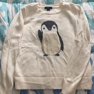 EUC GapKids Penguin Sweater